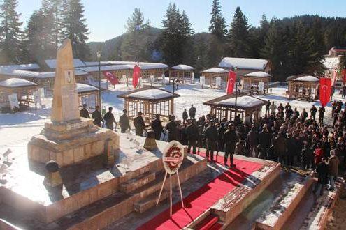 ılgaz derbent şehitleri anıtı, ılgaz akbak otel